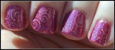 Southern Sister Polish: Holographic Quick Shot....Infra Red