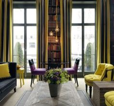 flower-in-number-16-library - london - mylusciouslife.com | Inside the world of Firmdale Hotel group owners, Tim and Kit Kemp