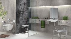 Aménagement salle de bain pour handicapés et séniors - Pellet - PELLET ASC