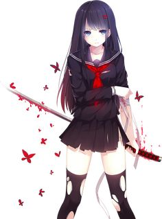 DeviantArt: More Like Anime Girl 3 Png by bloomsama