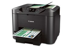 Canon MAXIFY MB5320 Wireless Small Office All-In-One Printer gives you the power to work fast and smart - so you can accomplish all you need.  Copy, Print, Fax, Scan with duplex printing and duplex scanning capabilities