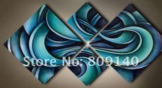 abstract blue painting - Google Search