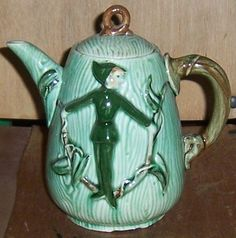 Vintage L. Batlin and Son Made in Japan Elf/Pixie Coffee Pot with Lid