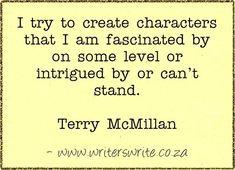 Quotable - Terry McMillan - Writers Write Creative Blog