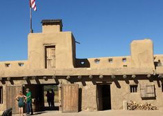Visiting Fort Bent, which has been renovated so that it is just like it was back when the wagons stopped along the Santa Fe Trail.