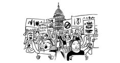 """THE RETURN OF CIVIL DISOBEDIENCE==The sixties produced a conviction that """"democracy is in the streets."""" The Trump era may echo that."""