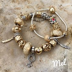 Pandora Jewelry Box, Pandora Gold, Pandora Bracelets, Pandora Charms, Pandora Collection, Girls Necklaces, Necklace Online, Bracelet Designs, Bling