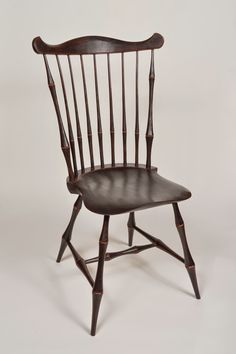 Fan back side chair, double bobbin turnings - Curtis Buchanan