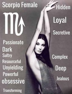 Scorpio Female Personality – The Astrology Place Membership Site Astrology Scorpio, Scorpio Traits, Scorpio Zodiac Facts, Scorpio Quotes, Moon Zodiac, Zodiac Traits, All About Scorpio, Scorpio Love, Scorpio Girl