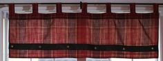 Now available at www.thecrookedwood.com - Sagamore Lake Pla....  Click here to shop: http://thecrookedwood.com/products/sagamore-lake-plaid-valance?utm_campaign=social_autopilot&utm_source=pin&utm_medium=pin