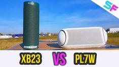 LG XBOOM GO PL7W vs Sony SRS-XB23 Extreme Bass Test Bluetooth Speakers, Bass, Sony, Lowes, Double Bass