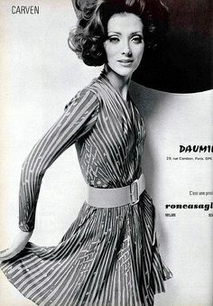 Carven - a famous fashion brand in 20th century