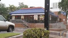 Miami, FL  04/2013  Burger King Robbery  A father who was robbed while eating with his family at a Burger King took out his own gun and shot the suspect, Miami Police said. NBC 6's Steve Litz reports.