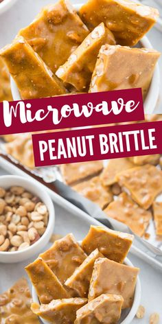 The perfect Holiday Candy Recipe for Thanksgiving or Christmas! This is on Microwave Peanut Brittle! The perfect Holiday Candy Recipe for Thanksgiving or Christmas! This is one of our family trad. Candy Recipes, Baking Recipes, Dessert Recipes, Caramel Recipes, Easy Microwave Peanut Brittle Recipe, Microwave Recipes, Brittle Recipes, Torte Recipe, Easy No Bake Desserts