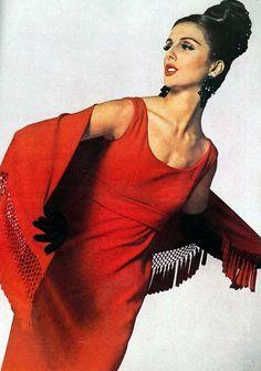 Tilly Tizzani, by Bert Stern, Vogue, 1962