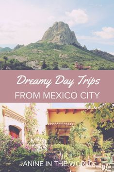 These dreamy day trips from Mexico City are perfect for soaking up Mexican culture at a slower pace. From the silver mines of Taxco, to the Pueblos Mágicos of Querárto, whatever you want in a day trip you're sure to find on this list! #mexico #mexicotravel #travel #puebla #teotihuacan #taxcomexico #queretaro