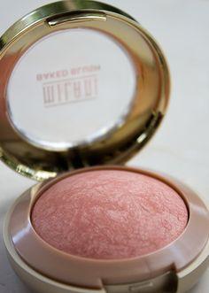 Milani Luminoso Baked Powder Blush - this blush gives a wonderful healthy lookin