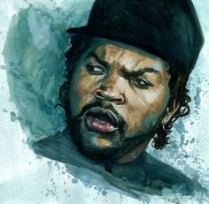 Illustrizzle: Portraits of 90′s Rappers by Jon Stich