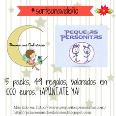 Pequeñas Personitas: #sorteonavideño de Princess and owl stories y Pequ...