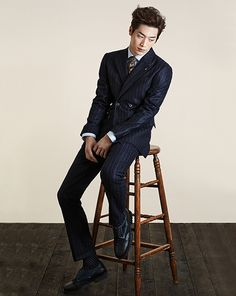 twenty2 blog: Seo Kang Joon for T.I for Men Fall/Winter 2014 Ad Campaign
