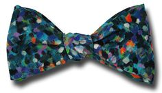 Liberty of London Pointillism-Summer Bow Tie