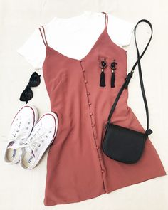 Summer easy and cute outfits - Verano Tutorial and Ideas Cute Summer Outfits, Cute Casual Outfits, Stylish Outfits, Spring Outfits, Easy Outfits, Casual Wear, Summer Dresses, Fashion Mode, Teen Fashion Outfits