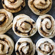 "@eatwithme_ct on Instagram: ""Cinnamon rolls, ready to be baked. • • • #eatingfortheinsta #chefmode #onmytable #foodie #feedfeed #igfood #hungry #food #goodeats…"" Cinnamon Rolls, Cookies, Eat, Baking, Breakfast, Desserts, Instagram, Food, Crack Crackers"