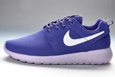on sale fde34 c9432 Black Friday - Nike Roshe Run Trainers Ladies Junior Purple and Light Pink  Blue Nike,