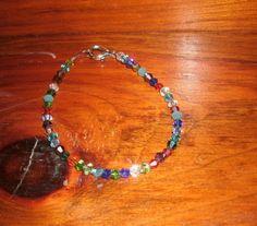 Swarovski Crystal Bicone Bracelet in by KrystalKlarityBeads