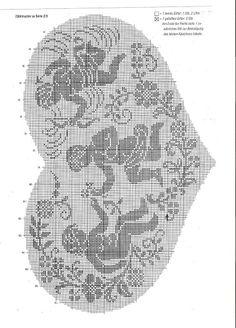 DIANA - Gitte Andersen - Álbumes web de Picasa Crochet Angels, Crochet Birds, Thread Crochet, Crochet Motif, Crochet Doilies, Crochet Lace, Cross Stitch Angels, Cross Stitch Heart, Counted Cross Stitch Patterns