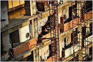 45-foot squatter building in Caracas, Venezuela
