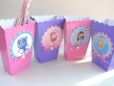 10 Little Charmers Party Gift Bags Popcorn Birthday Boxes Party FREE Straws Birthday Box, 2nd Birthday Parties, Birthday Ideas, Party Gift Bags, Party Gifts, Party Favors, Halloween Parties, Holiday Parties, Popcorn Boxes