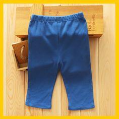 外贸童装裤子 春秋夏季婴幼儿长裤子纯棉 男宝宝休闲长裤纯色裤子
