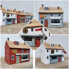 Little Houses, Mini Houses, The Pancake House, Tiny Shop, Doll Home, Wood Boats, Driftwood Crafts, Timber House, Beach Crafts