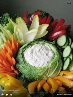 Veggie plate.