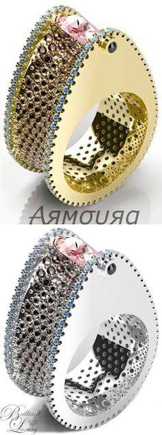 Brilliant Luxury * Armoura 'Chasm' Ring