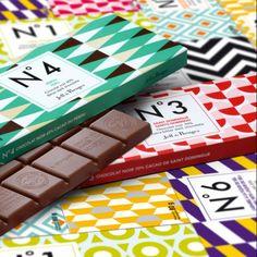 Tablettes de chocolat - Jeff de Bruges
