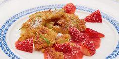 Schmarrntastisch der kleine Happen :-) Der Quinoa Schmarrn schmeckt einfach lecker und macht auch sonst eine gute Figur. Dazu ist er vegan und glutenfrei.