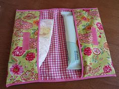 easy diaper wallet idea - would be easy to make in #Babyville waterproof pul fabric