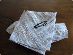 Kaikki mitä osaan: Paperinaruruusun kuvallinen ohje