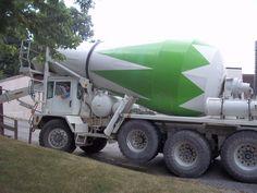 Tri axle Phoenix concrete mixer