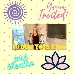 10 Minute YogaFlow. Its better to do a liitle yoga regularly then alot of yoga every once in a while. Please join me #yoga #freeworkouts #athomeworkout #yogaposes #workoutsforwomen Yoga Flow, Yoga Poses, At Home Workouts, Fit Women, Flexibility, Join, Youtube, Back Walkover, Fit Females
