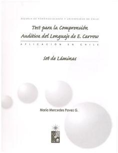 Tecal (laminas).Láminas para la aplicación del test para la evaluación de la comprensión auditivo del lenguaje