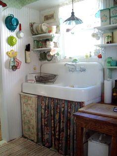 Cozinhas Vintage!