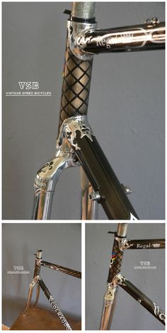 colnago regal arabesque restored by luca from vsb vintage speed bicycles