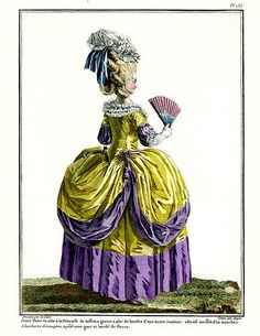 18th century fashion plate