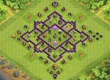 Manx TH 7 Clash of Clans Base Layout