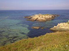 Playa del Murallón en Tapia de Casariego, Asturias