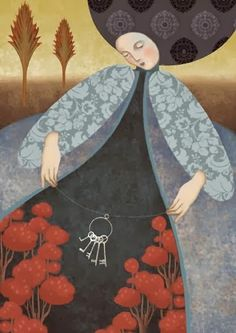 Kai Fine Art is an art website, shows painting and illustration works all over the world. Daria Petrilli, Illustrations, Illustration Art, Italian Artist, Klimt, Art Studies, Surreal Art, Oeuvre D'art, Contemporary Art