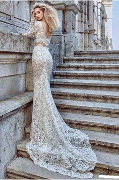 2016 bridal long sleeves v neck sheath lace wedding dress